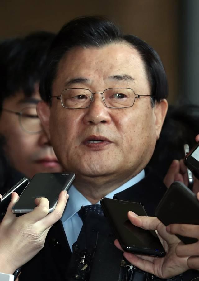 11月13日,李丙琪在首尔接受记者采访。(新华/欧新)