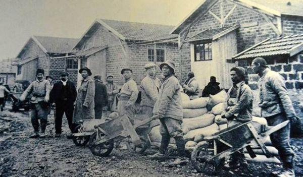 图为一战时期在欧洲的华工