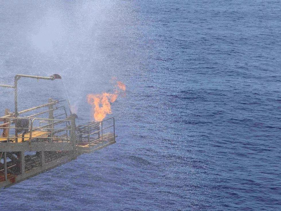 ▲南海海域蕴藏有丰富的油气资源。(视觉中国)