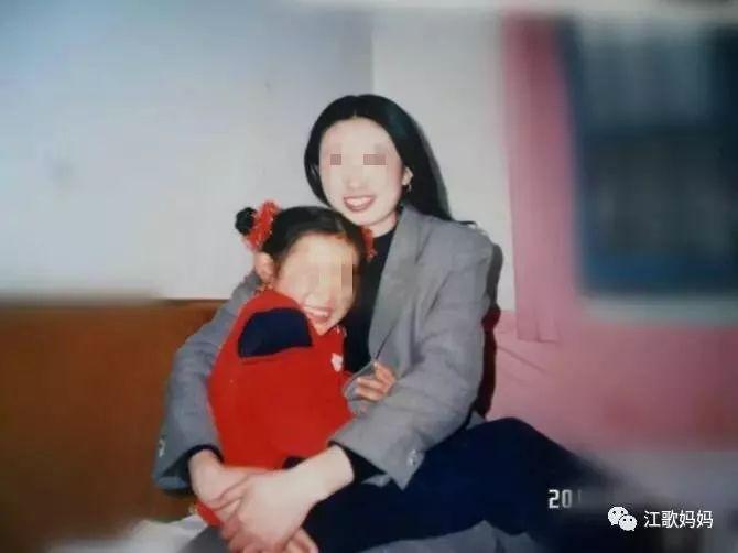 ▲江母说,女儿是她快乐的源泉。