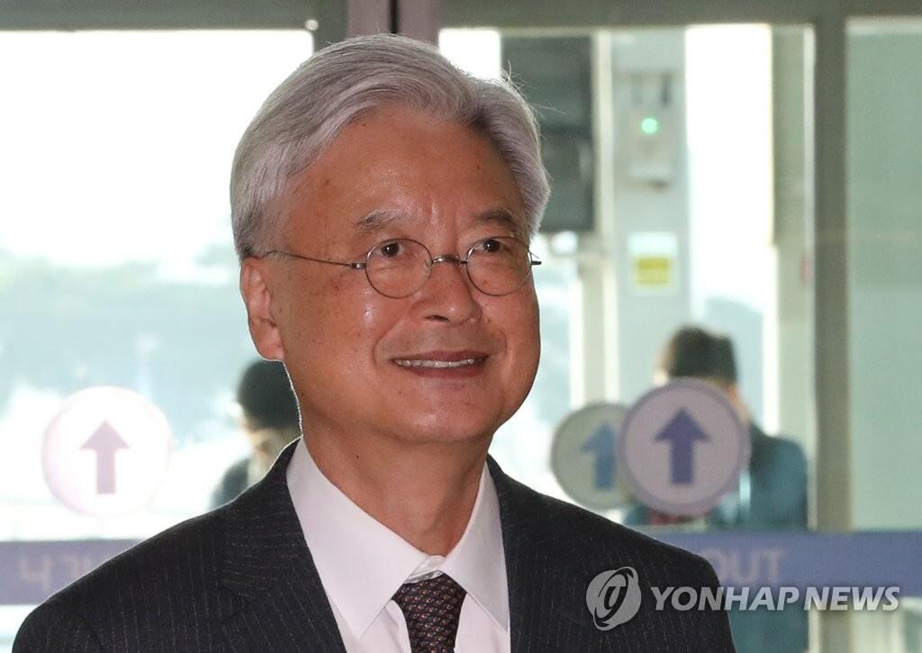 图注:韩国新任驻美大使赵润济(来源:韩联社)