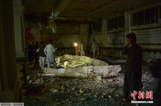 资料图:阿富汗炸弹袭击事件。