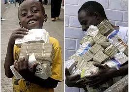 津巴布韦曾发生严重的通货膨胀
