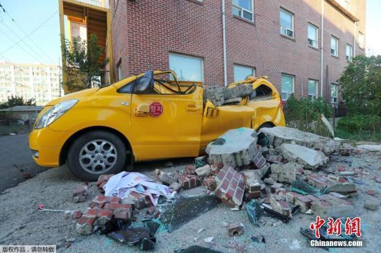 当地时间11月15日下午2时29分许,韩国庆尚北道浦项市以北6公里处发生5.4级地震。