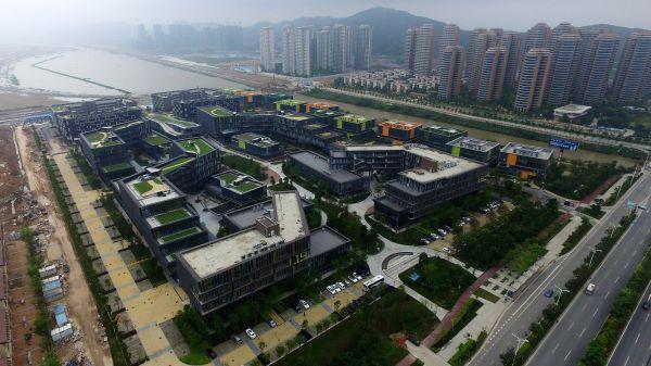 资料图片:广东自贸区珠海横琴片区。新华社记者 梁旭 摄