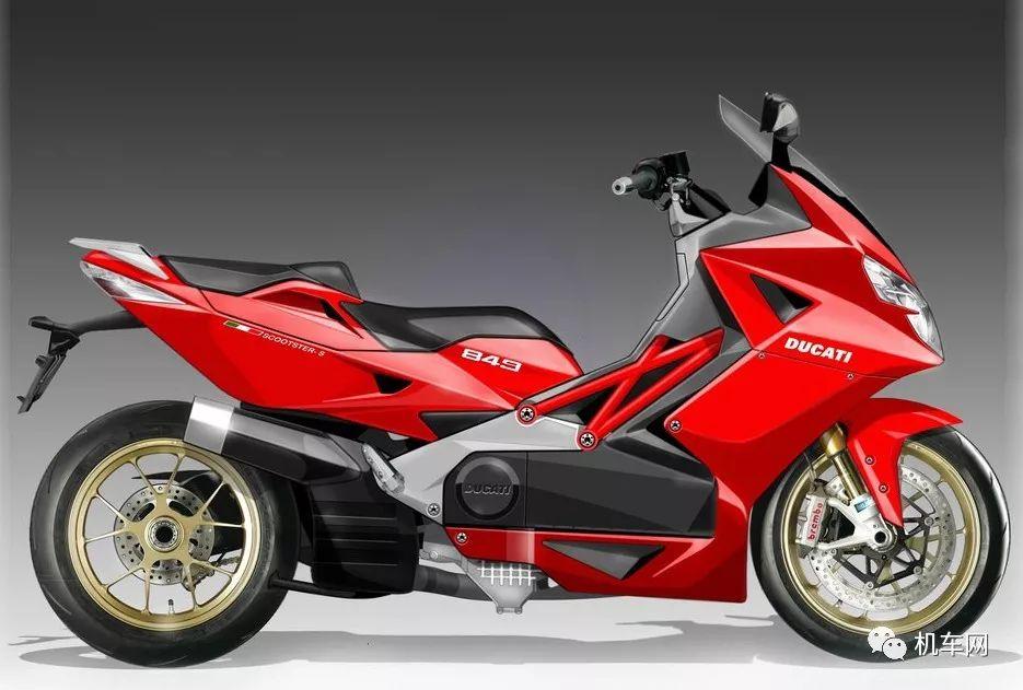 杜卡迪:未来关于踏板以及电动摩托车的展望