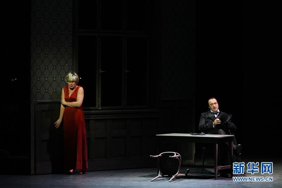 第十九届中国上海国际艺术节闭幕 歌剧《马克若普洛斯档案》压轴