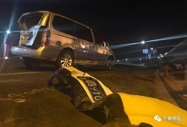 济南东绕城高速昨晚突发10车连撞惨烈车祸,致2人死亡6人受伤