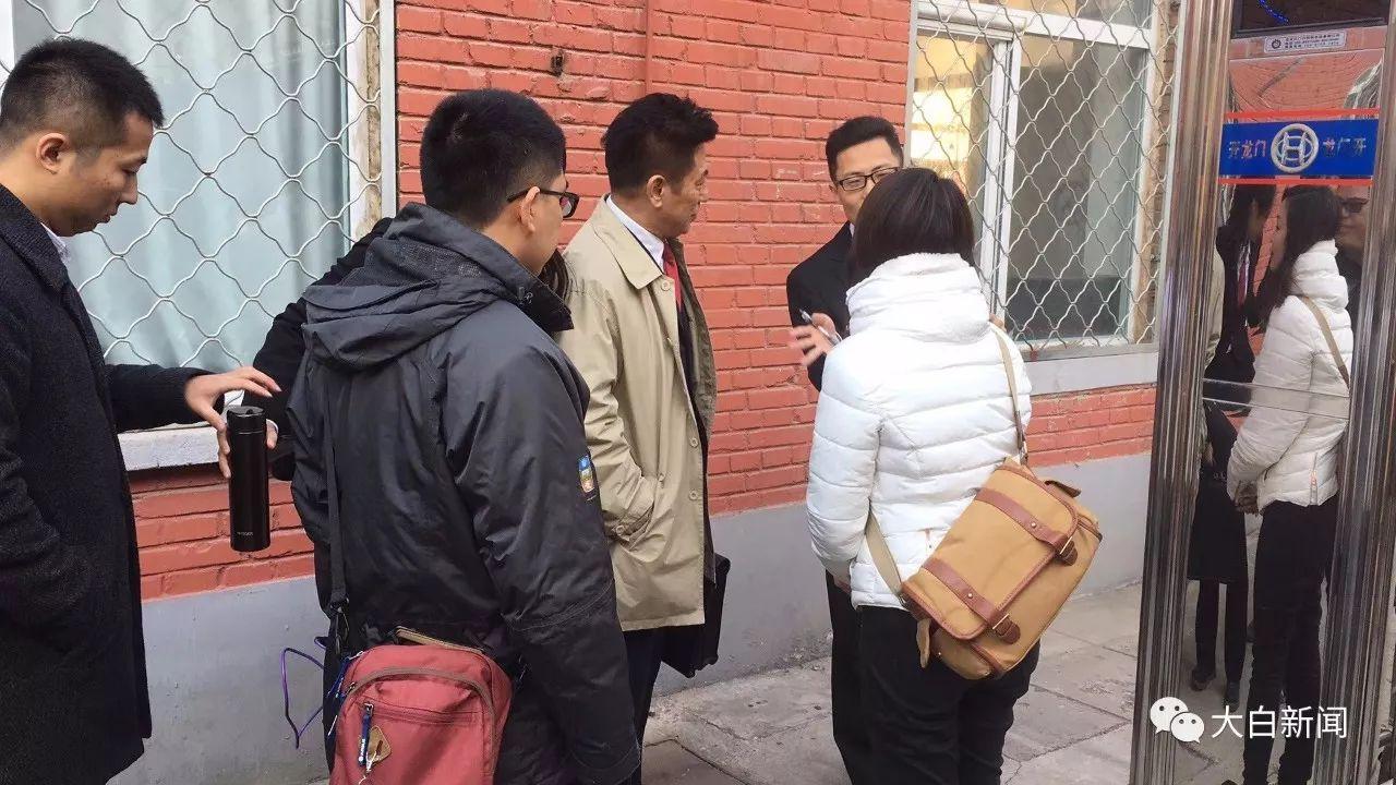 """MH370案""庭审前(图/张起淮)"