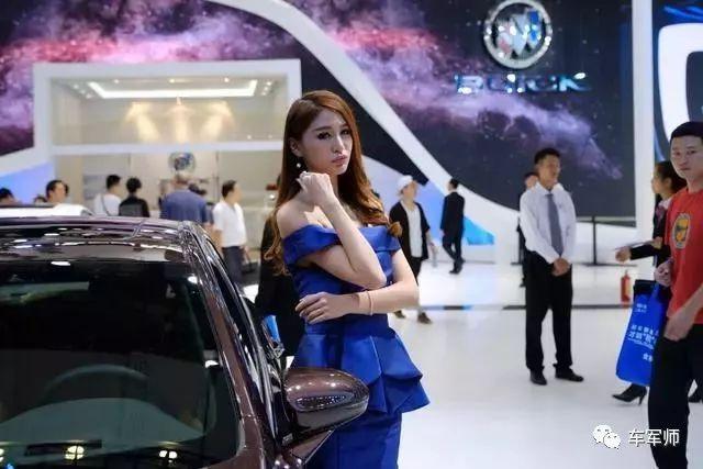 2017广州车展车模第二波:玛莎拉蒂展台美人颜值爆表