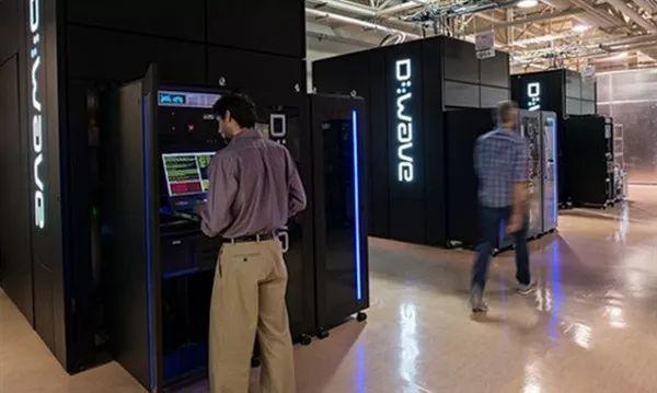 ▲D-Wave量子盘算机