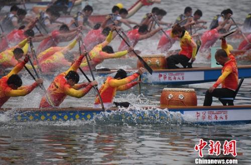 中华龙舟大赛重庆合川站落幕 诸强约战年度总决赛