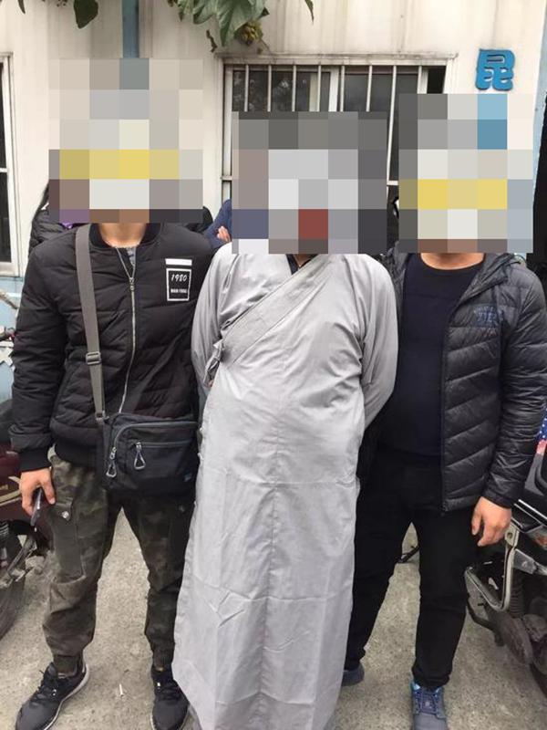 蔡某行骗被抓 本文图均为 警方供图