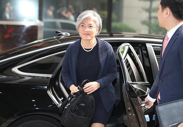 韩国外交部长官康京和将于21日访问中国。东方IC 资料