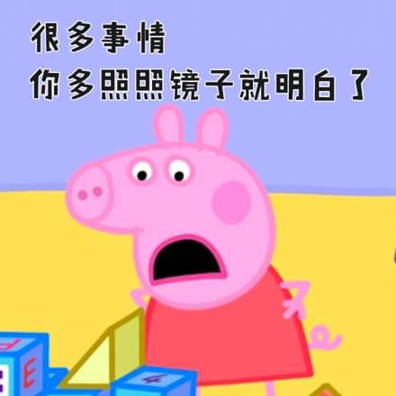 很多人都在使用1小猪佩奇孩子,表情男爸爸是神表情包看图片