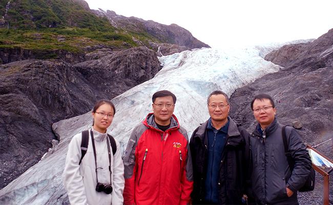 清华地学系罗勇教授研究组重建百年北极温度揭示全球变暖并未停滞