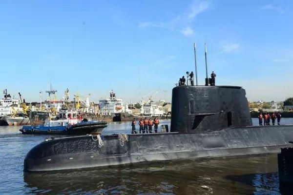 """阿根廷海军""""圣胡安号""""潜艇资料图"""