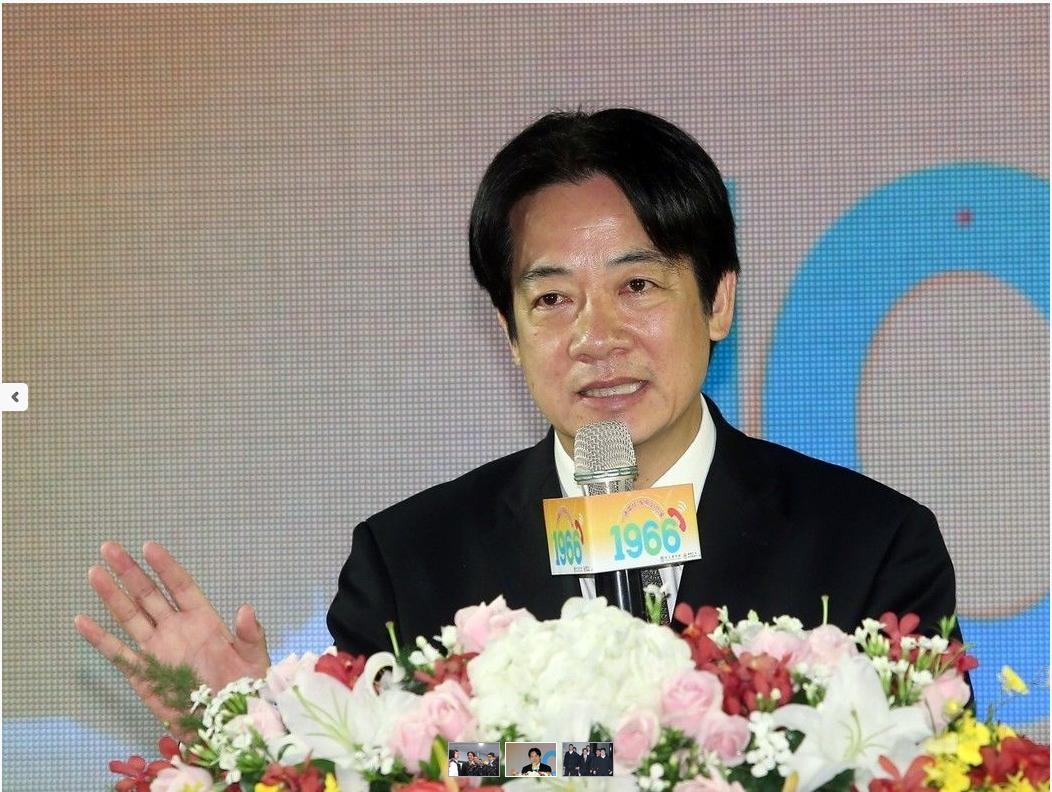 """台当局""""行政院长""""赖清德(图片来源:联合新闻网)"""