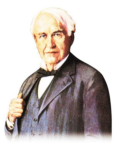 """爱迪生:发明了""""发明""""的人 当之无愧的发明大"""
