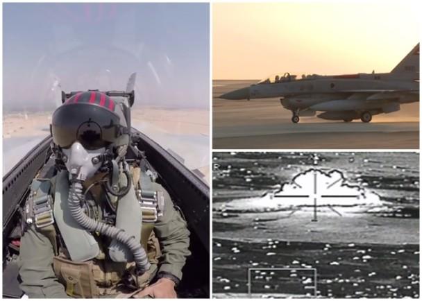 图为埃及军方发布的影片截图