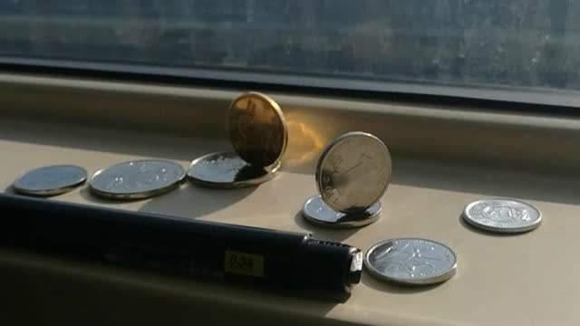 为什么日本新干线高速运行时立不起硬币,而中国高铁却可以?