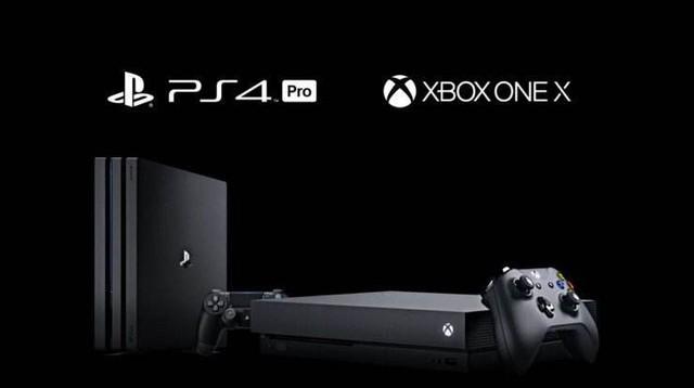 索尼PS4 Pro售价2999元,微软XBOX ONE X售价3999元