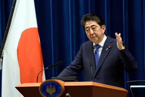 资料图片:日本首相安倍晋三。新华社发