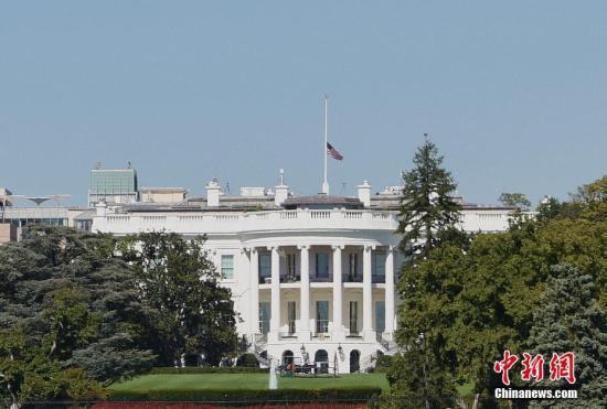 美国白宫。 中新社记者 刁海洋 摄
