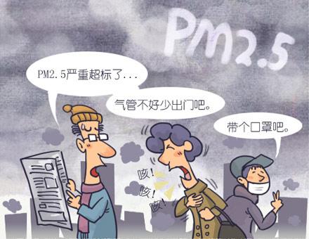 雾霾天气对健康的损害不容忽视.(网络图片)-雾霾来袭做好防护很图片