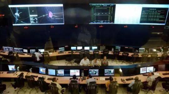▲印度空间研究组织(ISRO)操控室资料图
