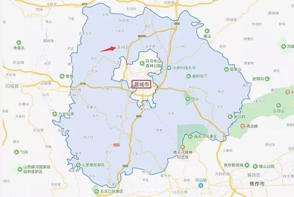泽州县行政区划