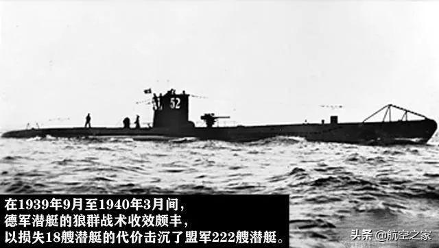 """二战前期让盟军最""""头疼""""的武器,纳粹德国的潜艇和狼群战术"""