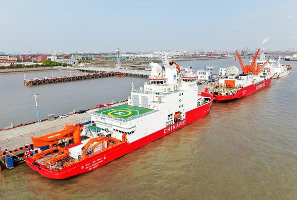 中国南极长城站和中山站实施封闭管理,防控新冠疫情