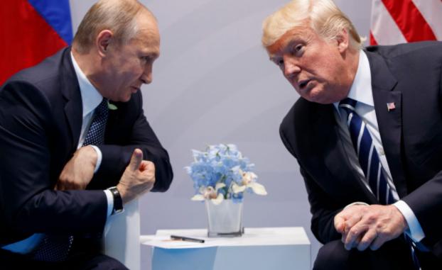 俄罗斯总统普京战好国总统特朗普 (图源:好联社)