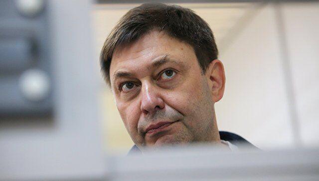 图注:俄罗斯记者维辛斯基