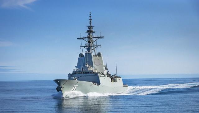 能反导的南半球一哥访日却遭冷遇,澳第一盾舰性能完败太原舰