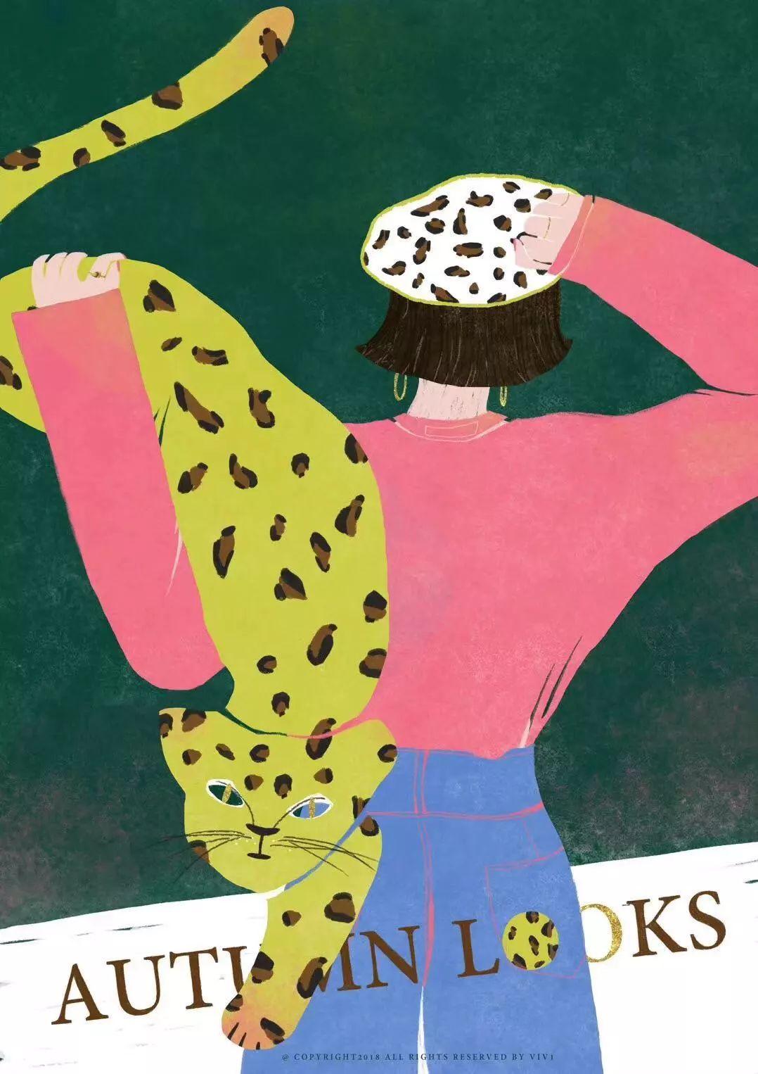ps手绘板「森系清新」插画10节课,还有8节提高课,高级
