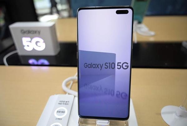 三星Galaxy S10 5G手機 視覺中國 資料圖