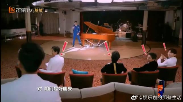 明星大侦探:张若昀成功的展示了最渗人的钢琴弹法