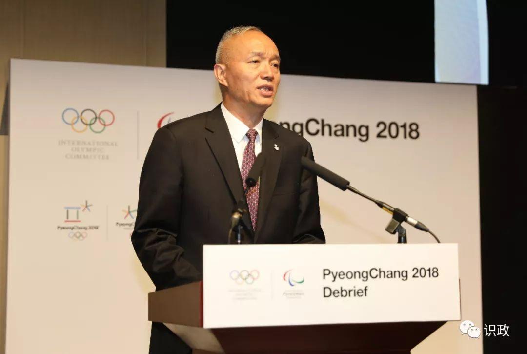 蔡奇代表北京冬奥组委对国际奥委会、国际残奥委会和奥林匹克大家庭的朋友们到来表示欢迎。