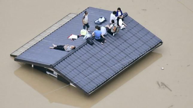 西日本暴雨灾情继续扩大:已致110人死亡79人失踪