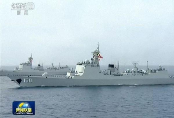 中华神盾:052C导弹驱逐舰。
