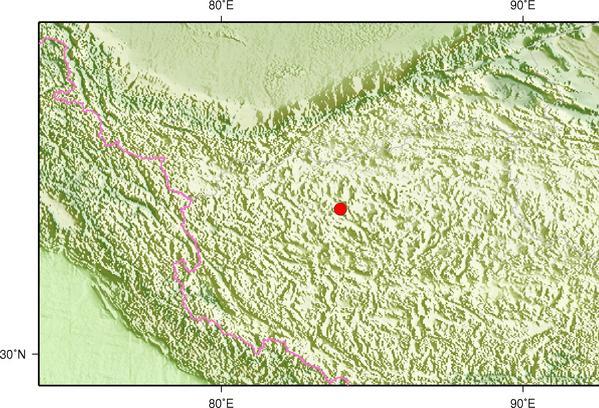 西藏阿里地区改则县发生4.2级地震 震源深度7千米