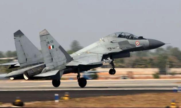 ▲印度空军的苏-30MKI战机