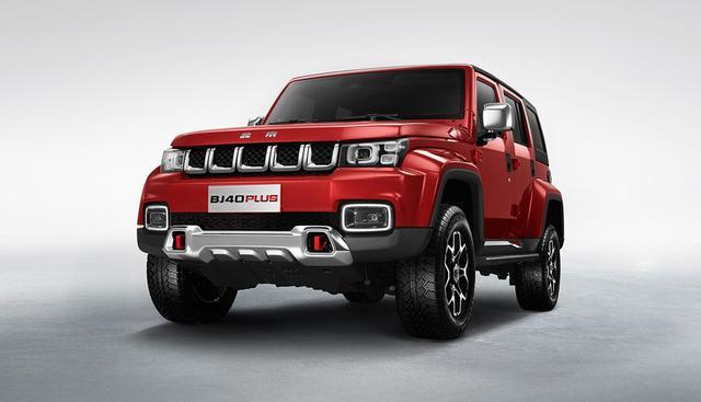 换装zf8at变速箱 北京汽车bj40 plus城市猎人版即将上市