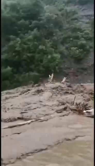 安康白河暴雨突袭!多路段损毁、房屋垮塌!