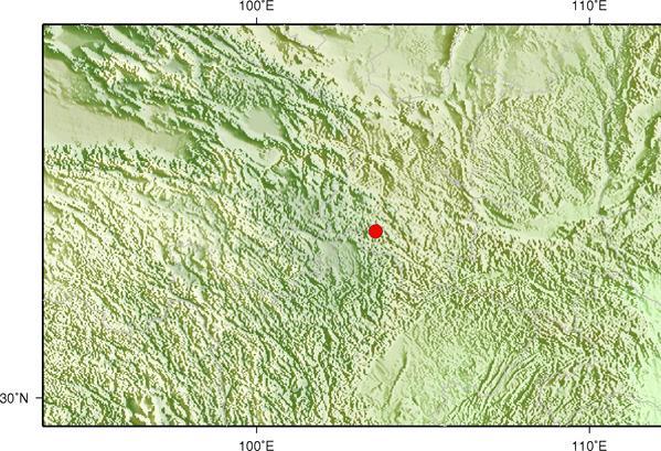 6月30日16时50分甘肃甘南州卓尼县发生3.1级地震