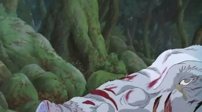 宫崎骏《幽灵公主》