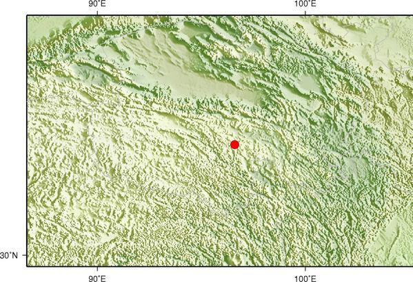 5月4日13时50分青海玉树州称多县发生3.0级地震