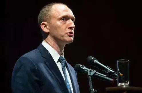 2016年7月8日,卡特·佩奇在俄羅斯莫斯科新經濟學校的畢業典禮上發表演講。